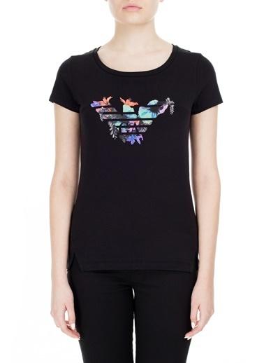 EA7 Emporio Armani  T Shirt Kadın T Shırt S 6Gtt23 Tj12Z 1200 Siyah